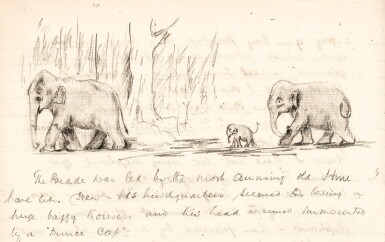 J.H. Williams | autograph manuscript notes on game hunting in Burma, 1920s, with related material
