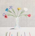 Colored Flowers Made of Paper and Ink (Scottish Arts Council 119; Museum of Contemporary Art, Tokyo 113)