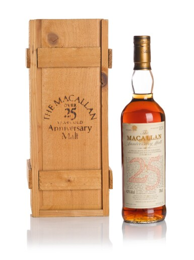 THE MACALLAN 25 YEAR OLD ANNIVERSARY MALT 43.0 ABV 1968