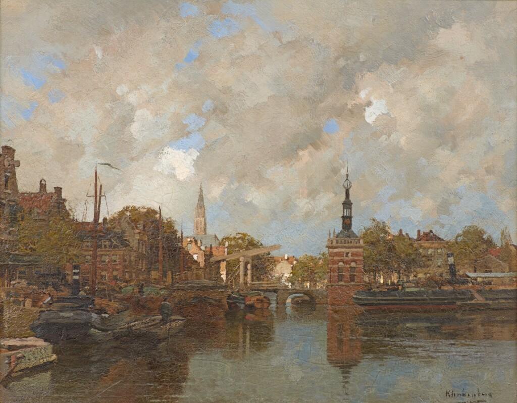 JOHANNES KLINKENBERG | Alkmaar with the Accijnstoren