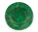 TEN 'MALACHITE' PLATES BY PIERO FORNASETTI, CIRCA 1960