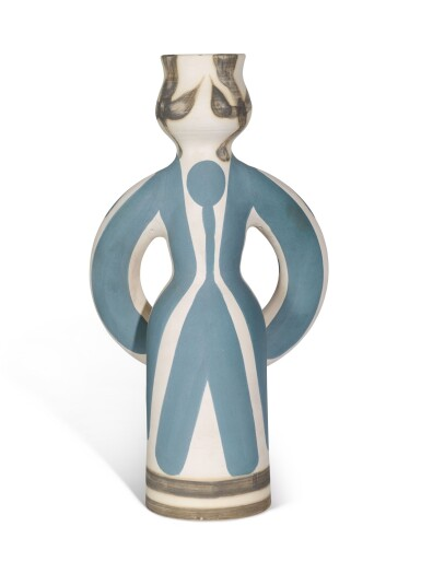 View 3. Thumbnail of Lot 38.  PABLO PICASSO | LAMPE FEMME (A. R. 299).