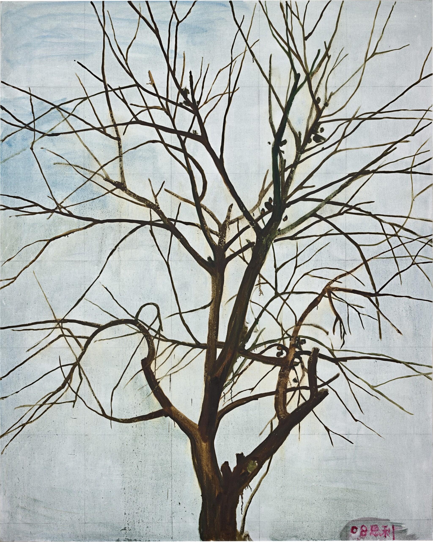 View full screen - View 1 of Lot 30. Zhang Enli 張恩利 | Tree in Winter 1 冬天的樹 1.