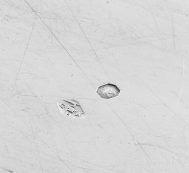 View 4. Thumbnail of Lot 304. A silver set of 23 plates and dishes engraved with the arms of the Barons Rothschild, Paris, 1809-1819, mainly Gabriel Jacques André Bompard   Ensemble de 23 assiettes et plats en argent aux armes des barons de Rothschild, Paris, 1809-1819, principalement par Gabriel-Jacques-André Bompard.