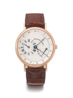 BREGUET | REF 3680, A PINK GOLD AUTOMATIC WRISTWATCH WITH DATE AND POWER RESERVE INDICATION CIRCA 2005