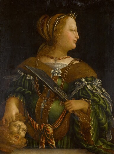 FOLLOWER OF BARTHEL BEHAM | Judith with the head of Holofernes