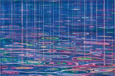 View 1. Thumbnail of Lot 539. Huang Yuxing 黃宇興 | A Night Rain on the Seine 塞納河畔的一場夜雨.