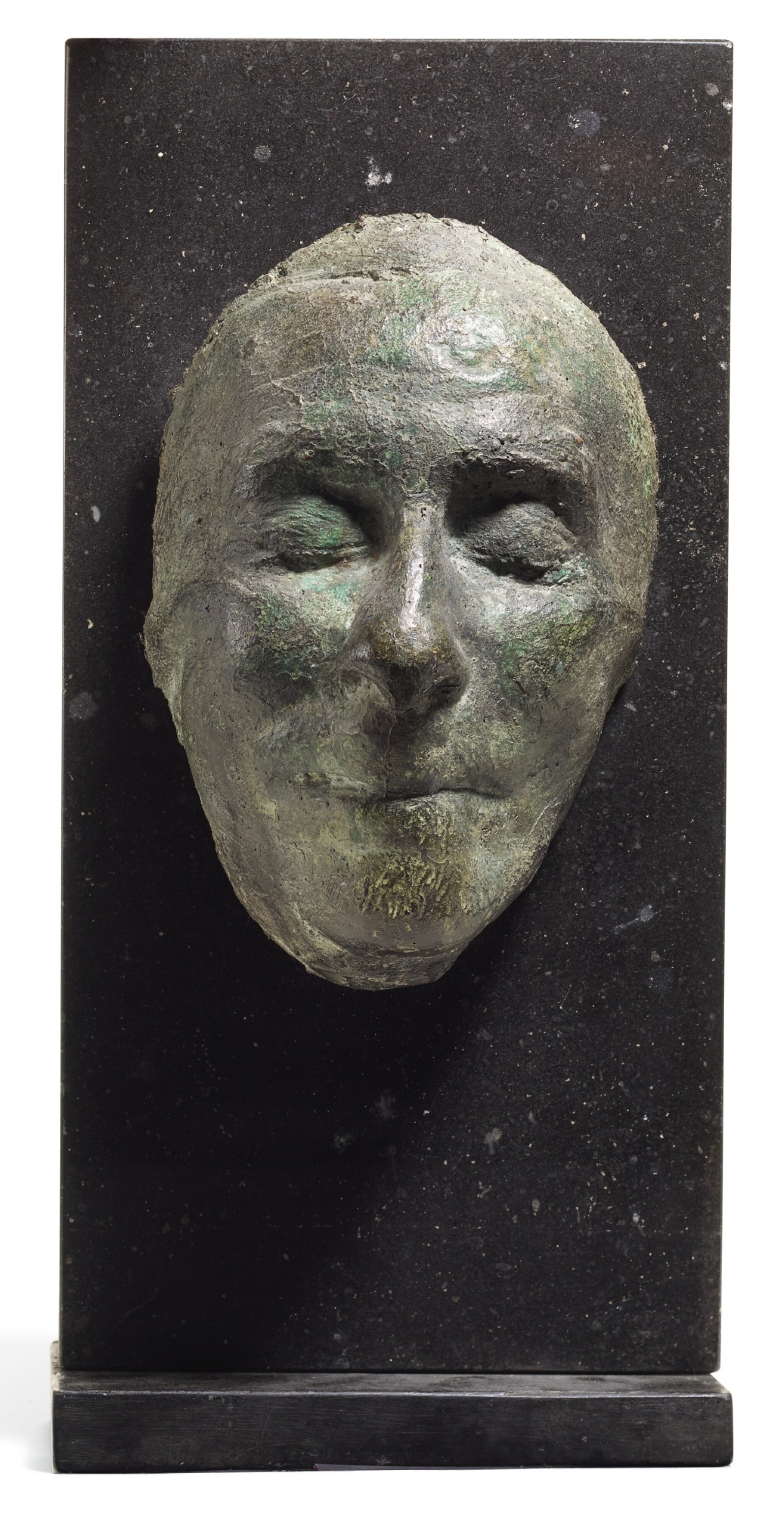 View full screen - View 1 of Lot 248. EDWARD DELANEY   DEATH MASK OF AUSTIN CLARKE.