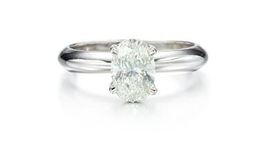 DIAMOND RING   1.50卡拉 橢圓形 鑚石戒指