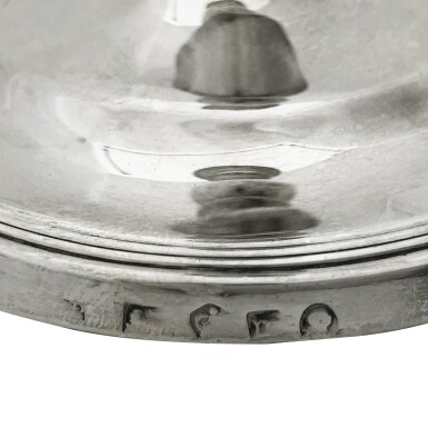 View 3. Thumbnail of Lot 265. A SET OF FOUR GEORGE III SILVER CANDLESTICKS, LUKE PROCTOR & CO., SHEFFIELD, 1794.