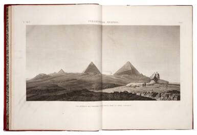 DESCRIPTION DE L'EGYPTE | Paris, 1809-1822, first edition, 20 vol.