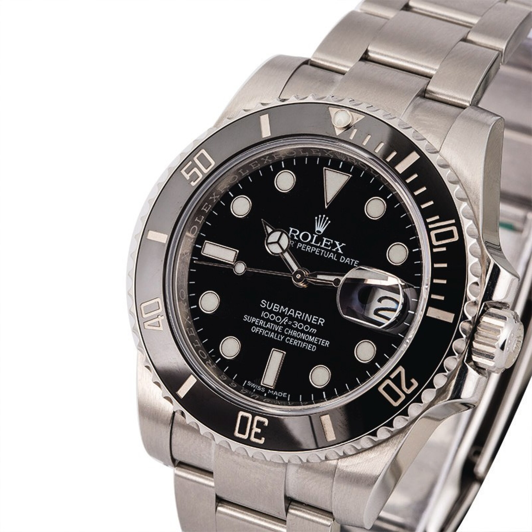 View full screen - View 1 of Lot 1. ROLEX | Submariner, Ref. 116610LN, A Stainless Steel Wristwatch with Bracelet, Circa 2017  .