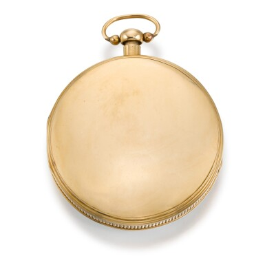 View 5. Thumbnail of Lot 279. SWISS   A GOLD QUARTER REPEATING WATCH WITH CONCEALED EROTIC AUTOMATON, CIRCA 1820.