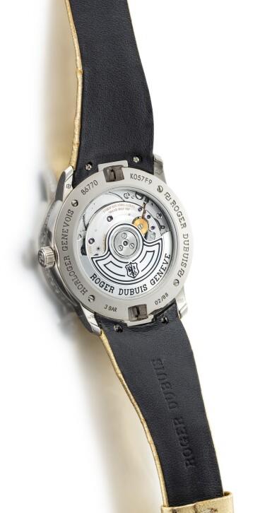 View 3. Thumbnail of Lot 8078. ROGER DUBUIS | VELVET | A LIMITED EDITION WHITE GOLD AND DIAMOND-SET WRISTWATCH, CIRCA 2018 | 羅杰杜彼 | Velvet 限量版白金鑲鑽石腕錶,約2018年製.