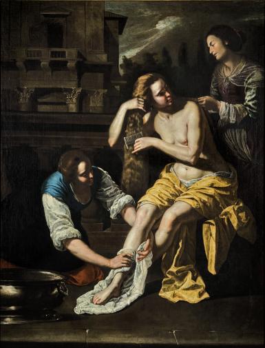 ARTEMISIA GENTILESCHI | BATHSHEBA AT HER BATH
