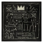 """[Jean-Michel Basquiat] Rammellzee vs K-Rob   SEALED """"Beat Bop"""" 12 inch single, 1983."""