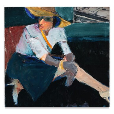 View 1. Thumbnail of Lot 7. Woman in Hat and Gloves .