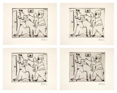 View 1. Thumbnail of Lot 146. PABLO PICASSO | FOUR WORKS: HISTOIRE DE SABARTÉS ET DE SA VOISINE: LES BANDERILLES (BA. 968).