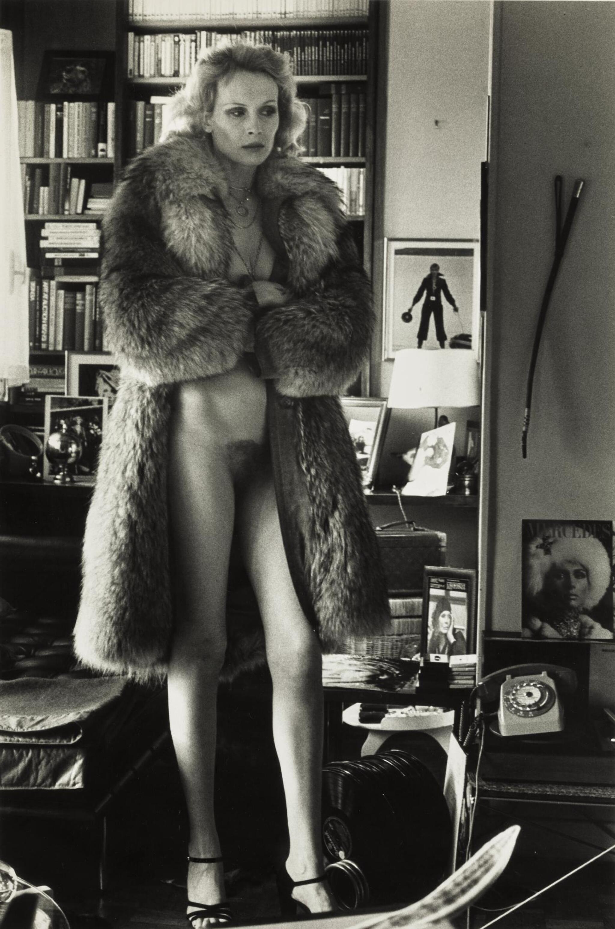 View 1 of Lot 107. HELMUT NEWTON | 'MERCEDES AT HOME', PARIS, 1975.