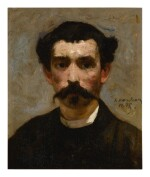 HECTOR HANOTEAU  |  PORTRAIT OF A MAN WITH A MUSTACHE