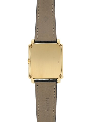 View 6. Thumbnail of Lot 159. PATEK PHILIPPE | REFERENCE 5024 GONDOLO A YELLOW GOLD RECTANGULAR WRISTWATCH, MADE IN 1994.