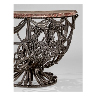 View 3. Thumbnail of Lot 50. Pair of Console Tables.