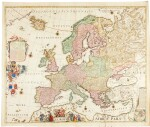 Europa. [Amsterdam: Reiner and Joshua Ottens, early eighteenth century]