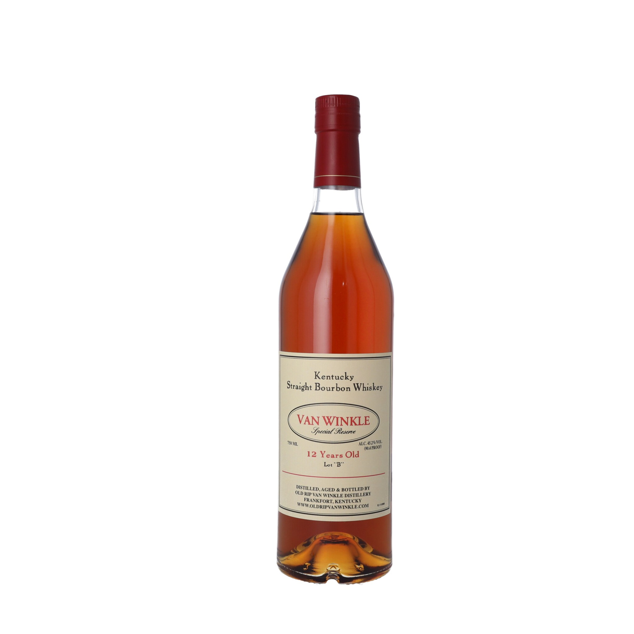 """View full screen - View 1 of Lot 170. Van Winkle 12 Year Old Special Reserve Lot """"B"""" 90.4 proof NV (1 BT75)."""