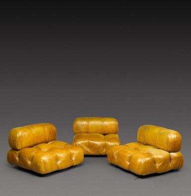 View 3. Thumbnail of Lot 185. Three piece Camaleonda sofa.