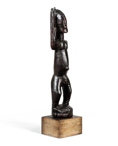 View 3. Thumbnail of Lot 15. Statue, Dogon Djennenké, Mali   Dogon Djennenke figure, Mali.