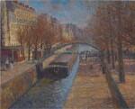 FRANÇOIS GALL  | LUMIÈRE D'AUTOMNE, CANAL SAINT-MARTIN, PARIS 10E