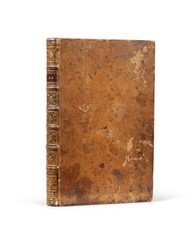 View 3. Thumbnail of Lot 12. Précis des opérations relatives à la navigation intérieure de Bretagne...1785. In-fol. (veau de l'époque).