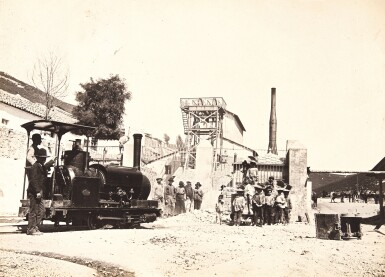 Spain | El Horcajo mining zone, album of photographs, [1895]