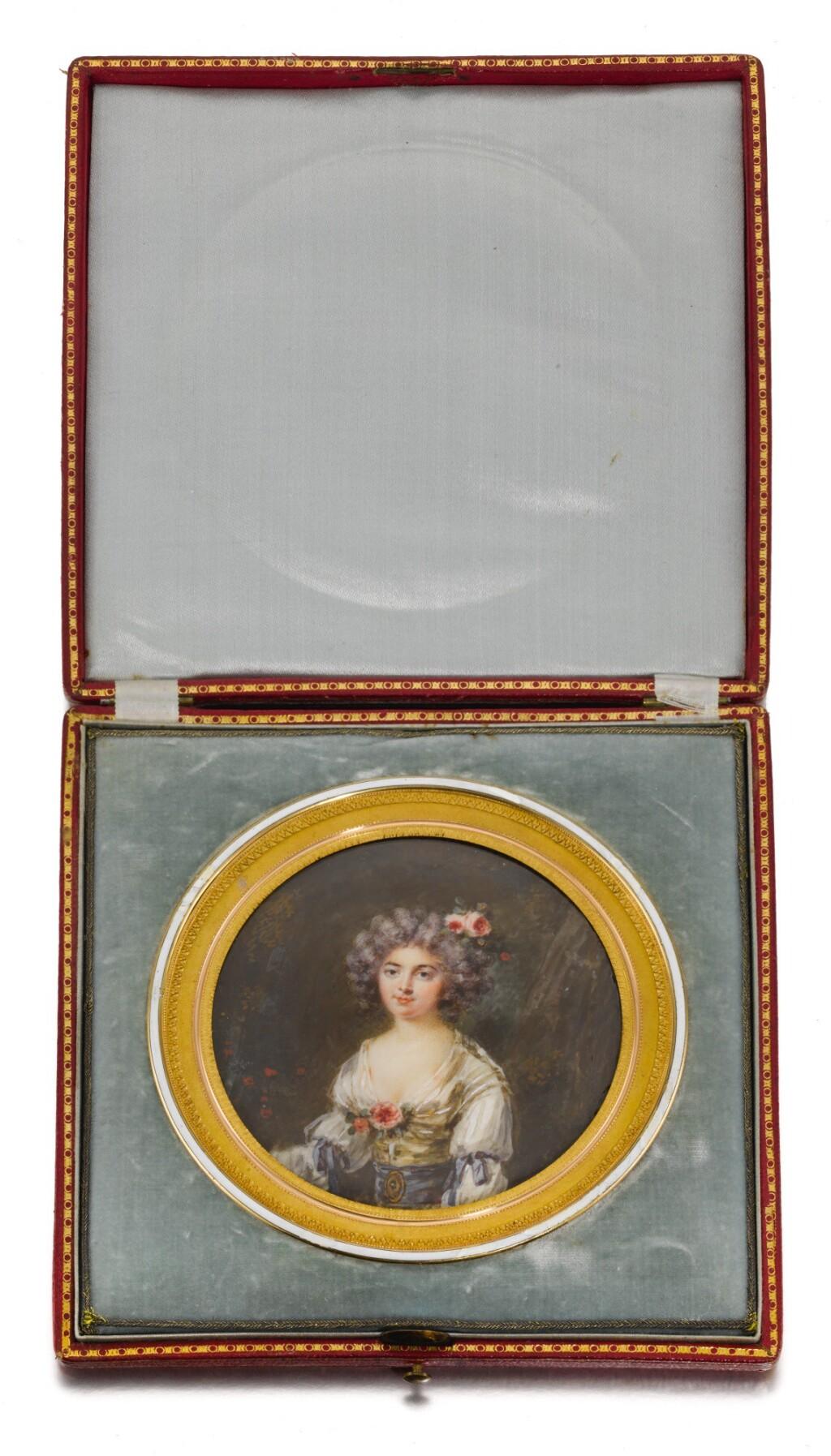 JOHN SMART | PORTRAIT OF LADY BOSTON, NÉE CHRISTIAN METHUEN (1750-1832)