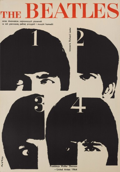 View 1. Thumbnail of Lot 33. WALDEMAR SWIERZY   A Hard Day's Night, Polish, 1964.