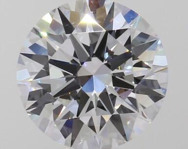A 2.00 Carat Round Diamond, D Color, VS1 Clarity