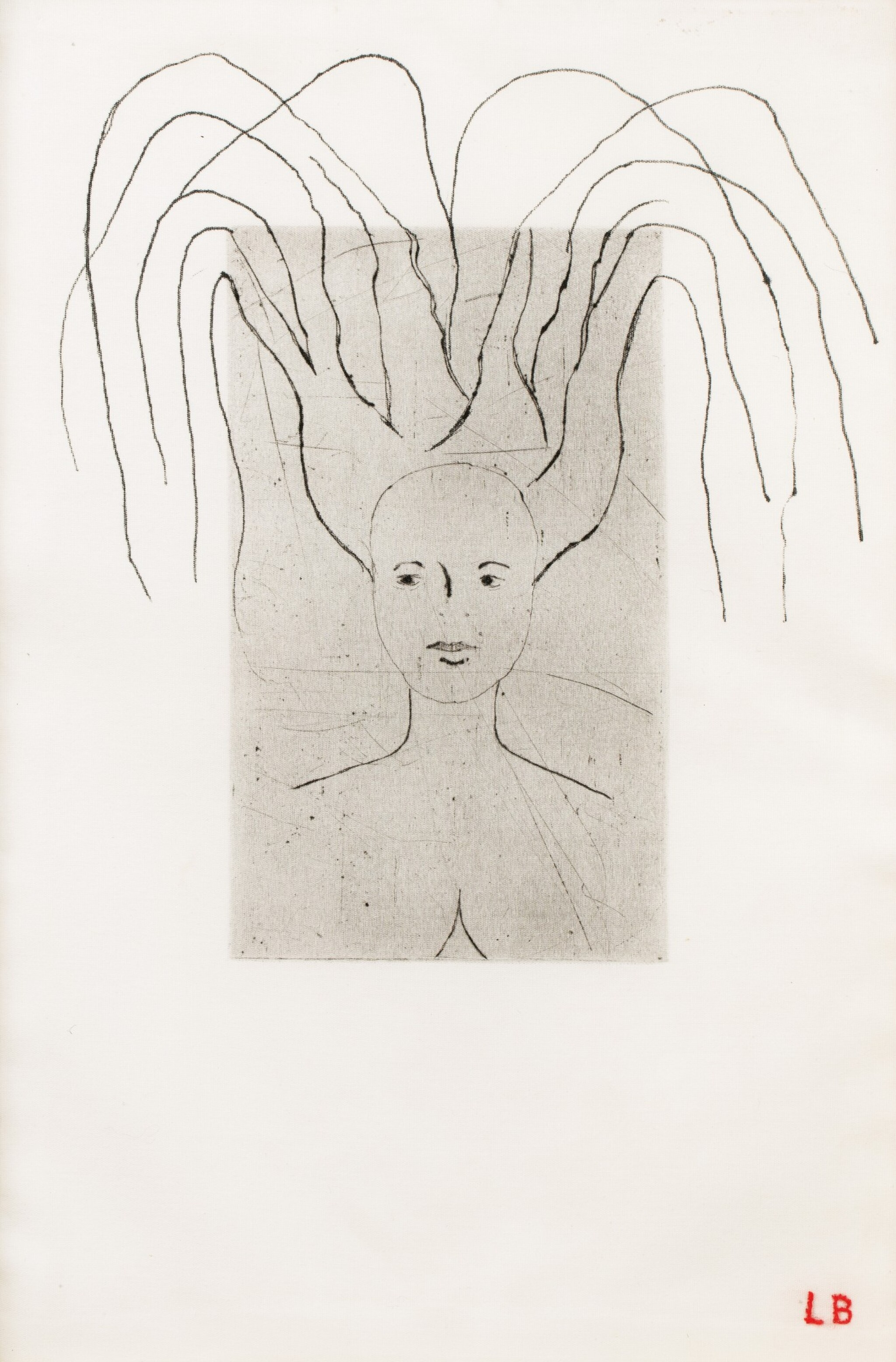 View full screen - View 1 of Lot 547. LOUISE BOURGEOIS   FEMME.
