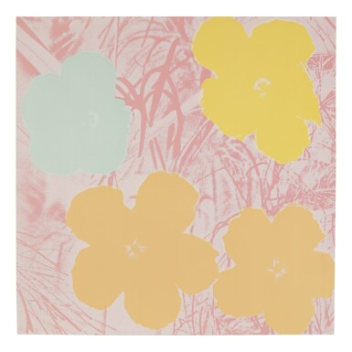 View 8. Thumbnail of Lot 63. ANDY WARHOL | FLOWERS (F. & S. II.64-73).