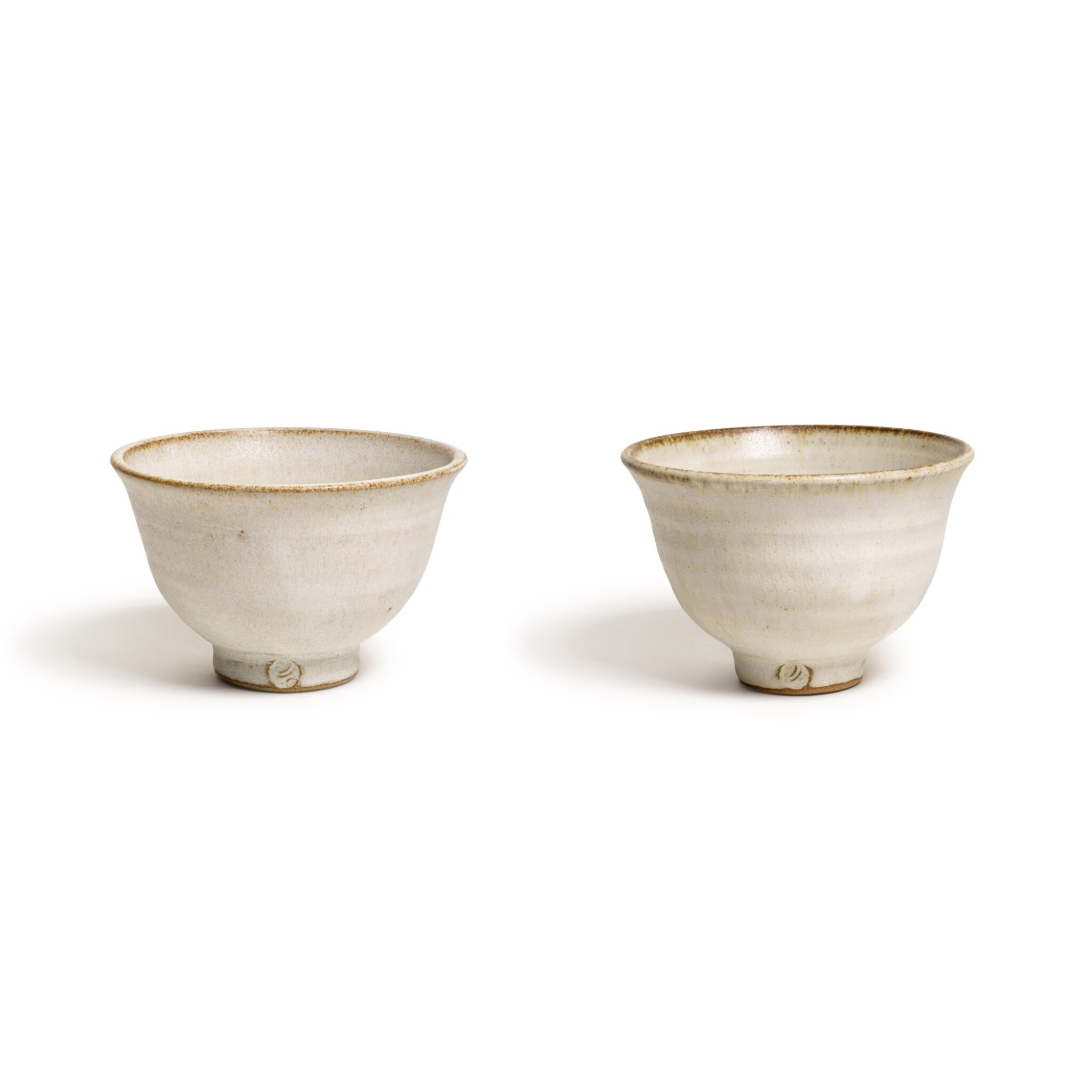View full screen - View 1 of Lot 147. Two Footed 'Sweet' Bowls.