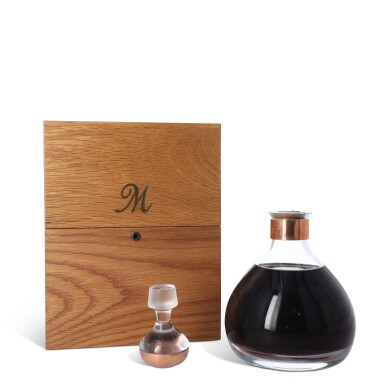 View 2. Thumbnail of Lot 4. The Macallan Millennium Decanter 50 Year Old 43.0 abv 1949 (1 BT75).