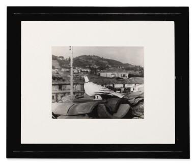 View 2. Thumbnail of Lot 36. ANDRÉ VILLERS | L'OISEAU SUR LE TOIT, VALLAURIS.