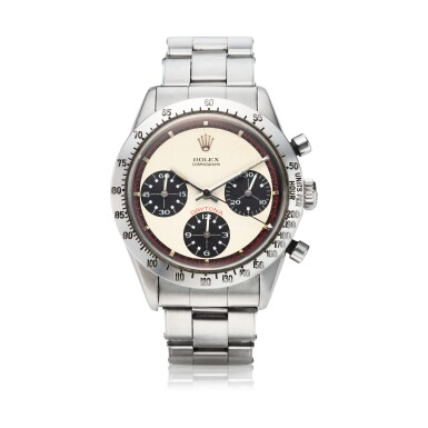 View 1. Thumbnail of Lot 279. Reference 6239 'Paul Newman' Daytona  A stainless steel chronograph wristwatch, Circa 1968.