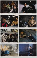 RETURN OF THE JEDI, SET OF 8 LOBBY CARDS, US, 1983
