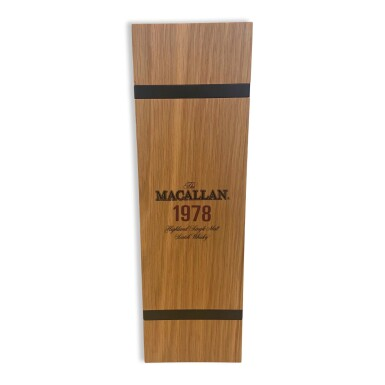 View 5. Thumbnail of Lot 7. The Macallan Fine & Rare 39 Year Old 59.2 abv 1978 (1 BT75).