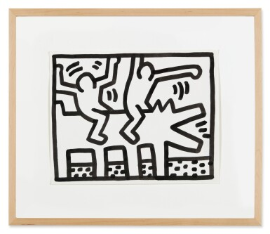 View 3. Thumbnail of Lot 210. Untitled (Pop Shop Drawing).