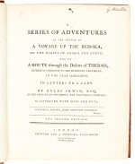 Irwin | A series of adventures in the course of a voyage up the Red-Sea, 1780