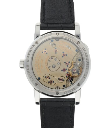 View 4. Thumbnail of Lot 401. A. LANGE & SÖHNE | LANGE 1, REF 101.026 STAINLESS STEEL WRISTWATCH WITH DATE AND POWER RESERVE INDICATION CIRCA 1998.