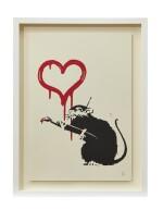 班克斯 BANKSY | 愛情鼠 LOVE RAT