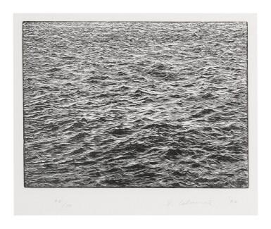View 1. Thumbnail of Lot 11. VIJA CELMINS | OCEAN SURFACE.
