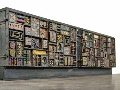"""View 4. Thumbnail of Lot 120. A Unique """"Sculpture Front"""" Cabinet."""
